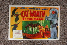 Cat Women of the Moon Lobby Card Movie Poster