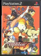 Street Fighter EX3 PS2 CAPCOM Sony Playstation 2 Japan USED