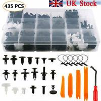 435x Plastic Car Push Pin Rivet Trim Clips Panel Fasteners Interior Assortments