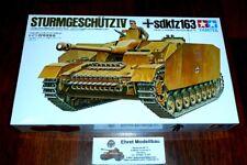 0WWII german Tank Panzer  Sd.Kfz.163 Sturmgeschütz IV  1:35 Tamiya 35087 Neu