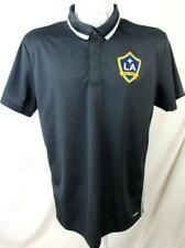 Los Angeles Galaxy Men Large Adidas Climalite Short Sleeve Polo Shirt LAG 13
