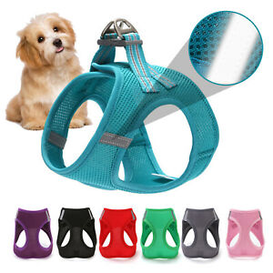 Pet Cat Dog Puppy Harness Lead Reflective Breathable Soft Mesh Vest CuteSmall