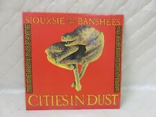 Siouxsie & the Banshees Cities in Dust 1985 Canada Polygram Vinyl Record LP