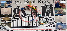 Sea fishing Rig - 2 hook flapper - Quality Shore rig for most species Dab Plaice