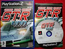 GT-R 400 GRAND TOUR RACING  ORIGINAL BLACK LABEL SONY PLAYSTATION 2 PS2 PAL