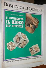 LA DOMENICA DEL CORRIERE 4 giugno 1968 Moranino Contestazione giovanile Bardot