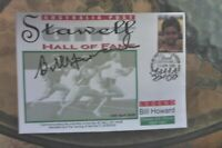 BILL HOWARD WINNER 1966-67  HAND SIGNED STAWELL GIFT HALL OF FAME COVER 2000