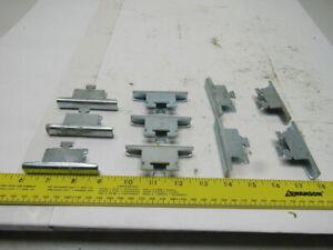 Modular Flow Rack Shelf Clips Lot Of 10