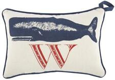 New Thomas Paul Collection W Whale DO NOT DISTURB Door Pillow Hang