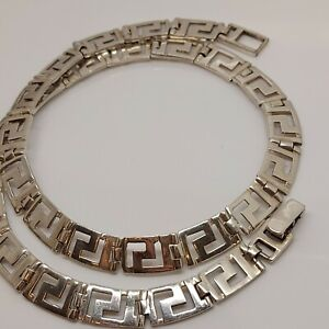 Solid sterling silver 925 chain 16 inch chain necklace O37-30 Egyptian .