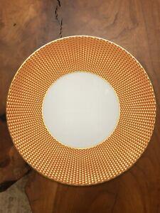 Raynaud Tresor Orange Dinner Plate. NWT