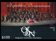 DOMINICAN REPUBLIC NATIONAL SYMPHONIC ORCHESTRA IMPERF MNH 2018 NEW