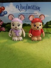 "Disney Vinylmation 3"" Park Set 2 Animation Rescuers Bernard and Bianca"