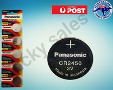 Panasonic cr2450 3V Lithium Battery CR-2450 ECR-2450 EXP 04/2023 MULTI LISTING