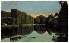 Goldfish Pond in Park, Oliva, Gdansk Region, Poland, 1920s