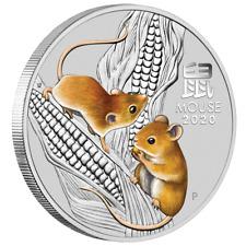 Australien 1 Dollar 2020 Jahr der Maus | Mouse (1.) Lunar III. - 1 Oz Silber ST