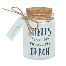 Favourite Beach Shell Glass Bottle