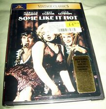 Mgm Vintage Classics Some Like It Hot Dvd New Marilyn Monroe Tony Curtis