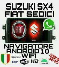 FIAT SEDICI SX4 STEREO ANDROID 10 NAVIGATORE WIFI 2GB ram 32GB rom RDS