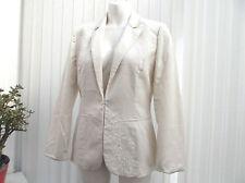 """""""warehouse"""" ladies white summer jacket size 12"""