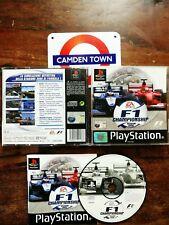 F1 Championship Season 2000 Ps1 Edizione Italiana Perfetta Completa Di Manuale