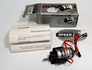 Graupner 6089     Getriebe mit Elektromotor + Drehzahlregler   /18-2130/652