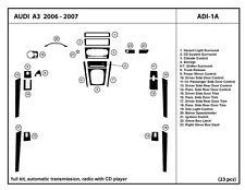 Audi A3 2006-2007 Automatic trans Real Carbon Fiber Dash Kit Full kit ADI-1A