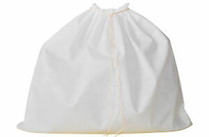 Dust Bag for Leather Handbags, Shoes, Belts, Gloves, Acc., 10 Sizes, Drawstring