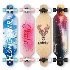 Caroma Longboard Skateboard 41Zoll,Cruiser Boards mit ABEC-11 Kugellagern DHL-EU