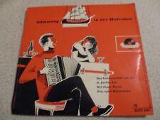 Vinyl7 Stimmung in der Hafenbar Max Greger und andere German Press EP 1955 gut