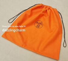 Hermes orange sac à poussière 43 x 45.5cm pour birkin 25/kelly 25,28/constance etc....