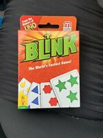 Mattel Games Blink Card Game the World's Fastest Game from the makers of Uno