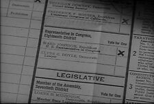 Tuesday In November Vintage 1945 Voting Election Ballots Convention Footage DVD
