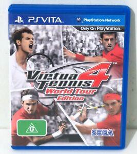 Virtua Tennis 4 World Tour Edition for Playstation Vita PSVITA - Free Postage