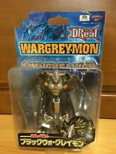Bandai D-Real DREAL Digimon Black Wargreymon Rare Figure Digital Monster Unused