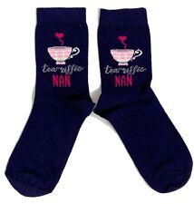 Ladies Tea'Riffic Nan Nice Cup Of Tea Socks 4-8 UK /37-42 Eur / 6-10 US