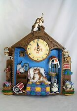 Danbury Mint Comical Cats Collector Clock Gary Patterson