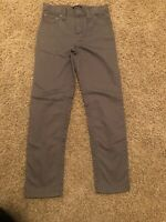 Boys Ralph Lauren Polo Size 7 Grey Pants Adjustable Waist