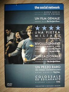"DVD ""The social network"" (edizione speciale 2 DVD)"