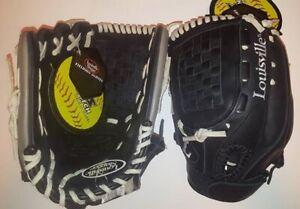 "LHT Lefty Louisville Slugger CFPB1225 12.25"" Collegiate Fastpitch Softball Glove"