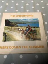 "THE UNDERTONES Here Comes The Summer 7"" Black Vinyl Picture Sleeve GOOD"
