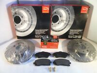 - MAZDA MPV I Pagid Front Brake Kit 2x Disc 1x Pad Set LV