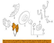 VW VOLKSWAGEN OEM 00-05 Jetta Brake-Front Pads 1J0698151F