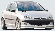Rieger Front alerón labio para peugeot 206 sedán/cc cabrio