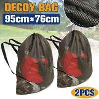 Hunting Mesh Decoy Backpack Mesh Greenhead Turkey Goose Duck Decoy Bag Tool Hot