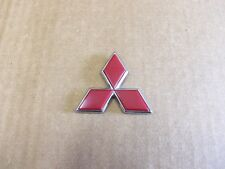 Triple Diamond Emblem Color Red Genuine Mitsubishi Part # MR416795 NEW