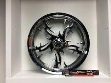 "09 up Harley Davidson 21"" front Wheel Custom Chrome Wheel Style 123c"