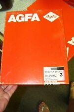 Nos AGFA Bn310rc BROVIRA-SPEED GLOSSY GRADE HARD B/W RC PAPER