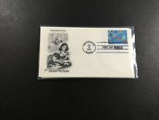 US FDC 13 Jul 2000 ArtCraft Cachet Group of 4 Covers Stampin' the Future CA