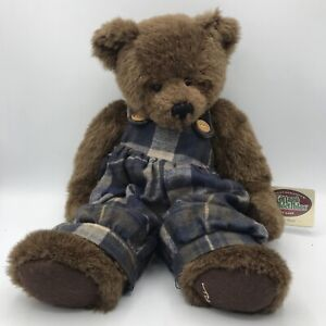 Vintage 1996 The Cottage Collectibles by Ganz Jointed Teddy Bear Plush Root Bear